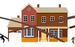 Как разделить частный дом на два адреса