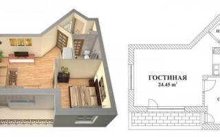 Что считается жилой площадью в квартире