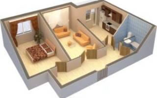 Какие стены можно ломать в панельном доме