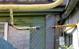 Как провести газовую трубу в доме