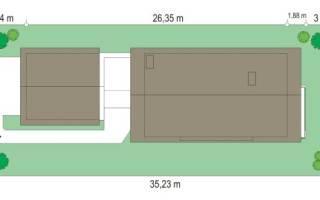 Как построить дом на одной сотке земли